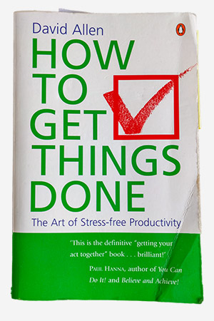 My (second) copy of Getting Things Done